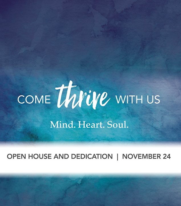 Open House and Dedication Service
