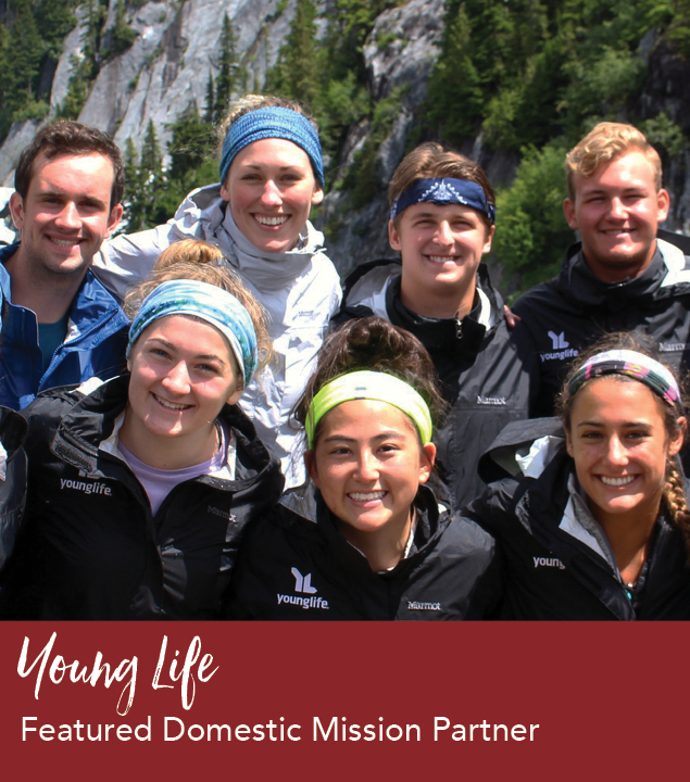 Help Young Life Share the Gospel with Local Youth