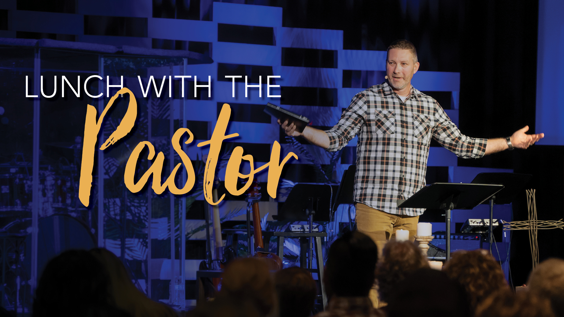 Lunch with Pastor Eric Camfield