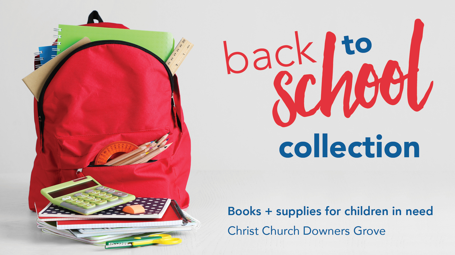 SUMMER SCHOOL SUPPLY COLLECTION